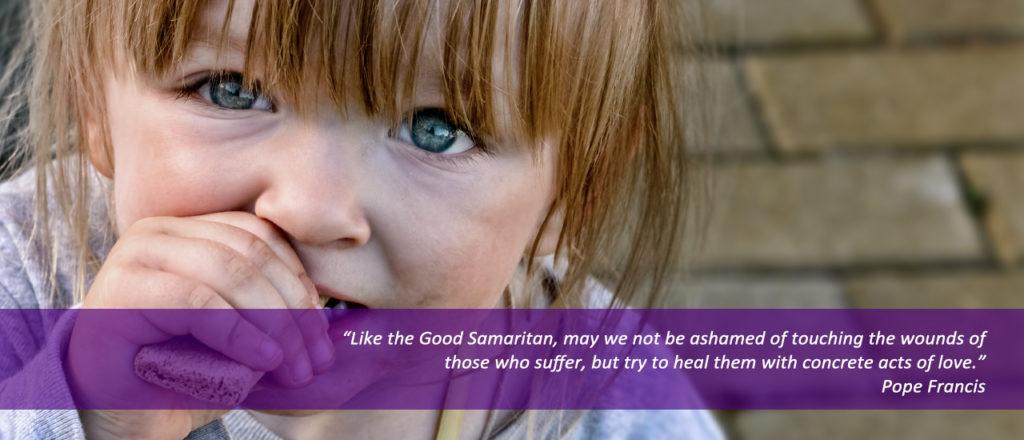 Pope Francis Good Samaritan